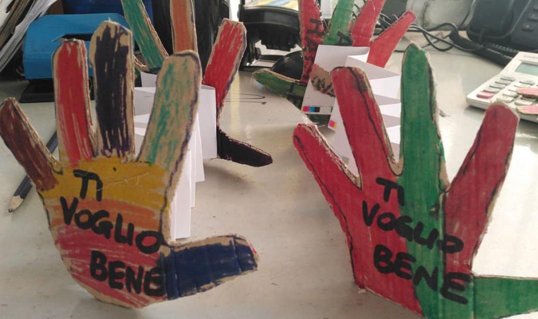 In tempi di lockdown Arcobirbaleno continua i suoi interventi anche a distanza