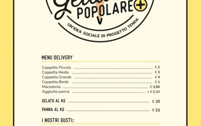 Gelateria Popolare + riapre col servizio delivery e take-away!